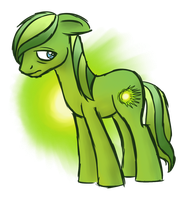 Emerald Ray: Cursed by Wolframclaws