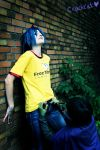 GoRiLLaZ Cosplay For Crackcat by Hikarulein