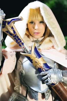 Saber Lily cosplay by MahoCosplay