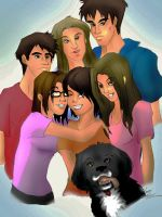 Saya's Family by CelticMagician
