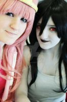 Bonniebel and Marceline by gbow