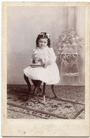 Vintage little girl X by MementoMori-stock