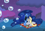 Bubble-Blowing Lessons by Kudalyn