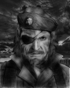 Big Boss - Metal Gear Solid by SkatersOnly
