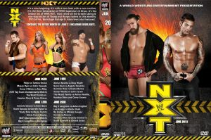 WWE NXT June 2013 DVD Cover by Chirantha