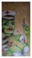 Acid Rain Zombie by tainted-orchid