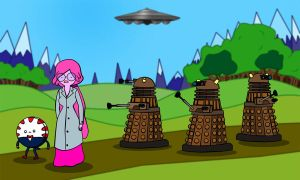 Daleks in Ooo by richardnixon1968