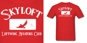 LOZ Skyloft Loftwing Aviators Club Shirt by Enlightenup23