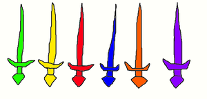 Crystal Swords by SurgeCraft