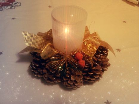 Christmas Candle. | MERRY Christmas :) by Redhz