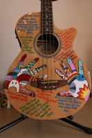 Custom Bass Guitar by the-danger-mouse