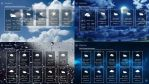 Windows 8 FULL SCREEN Weather 2 for xwidget by jimking
