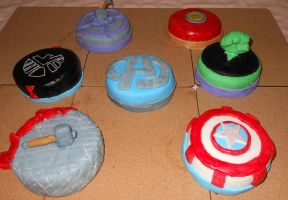 Avengers: Cakes Assemble! by emily0410