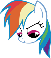 Vector Rainbow Dash bez tla by Kyss.S by KyssS90