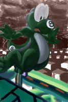 yoshi 8 takes on some course by runde