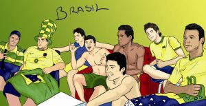Brasil, my friends and I by ODesigner