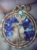 secret gardens amethyst tree of life by PK-Photo