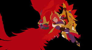 Phoenix Quinn and Valor by DukeofDunkshire