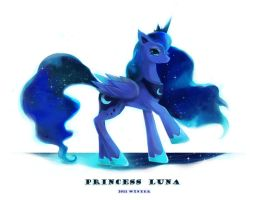 Princess Luna by blackywolfer