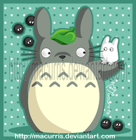 Totoro by macurris
