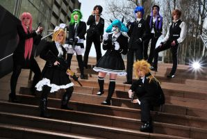 VOCALOID: Secret Police by Blackcrane56