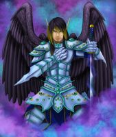 The Etheral Warrior by Zaebrael