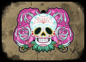 Sugar Skull - Tattoo Design by SugarSkullCandy