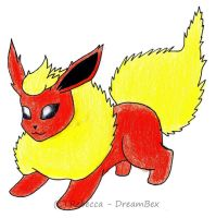 Flareon by DreamBex