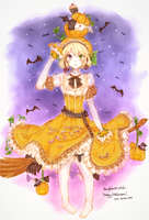 Witch of Pumpkin by tmtm-dot