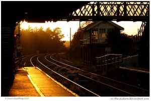 Train Station by In-the-picture