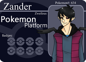 PP: Zander Battlecard (updated) by Dichord