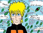 Naruto Uzumaki ms paint speedpaint(link below) by Fran48