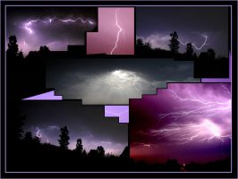 Lightning collage by tempus