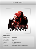 Metro 2033 - Icon by Crussong