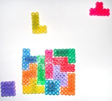 Tetris Magnets - Set of 13 by Jennifer-EA