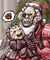 Warframe - Why Grineer Don't Cerebrate X-Mas by yuikami-da