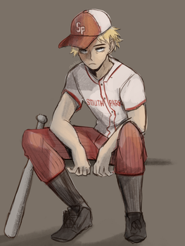 Baseball Kenny by Chokico