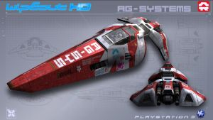 AGSystems - WipEout HD - PS3 by nocomplys