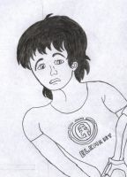 Gabriel Rooney Jr with shaggy hair by LiviuSquinky