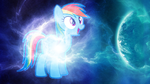 Rainbow Dash 4K Wallpaper by Laszl