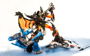 Predaking-VS-Wreckers-002 by PlasticSparkPhotos