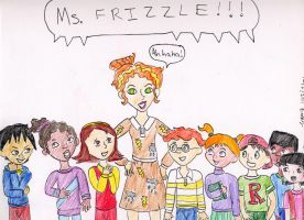 Page 1: Ms. Frizzle by VioletAnne9