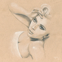Scarlett Johansson #Sketchbook by dankershaw