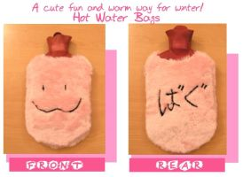 Friendly Hot water Bag by Laia-pink