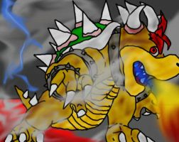 Bowser from Super Mario by geek23