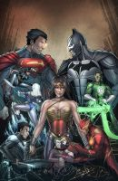 Injustice Gods Among Us by pop-lee