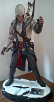 Connor Kenway - Life-sized Statue by Lynus-the-Porcupine