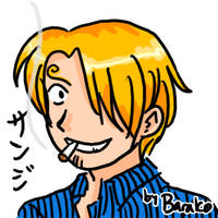 15-minute Sanji Doodle by rose-star