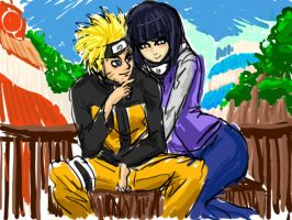 Naruhina Fast art by ManiacPaint