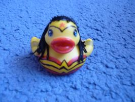 wonder woman duck by ShayeraLee